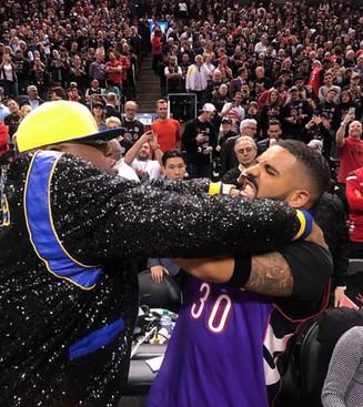 Drake and E40 NBA Finals 2019...Who you Got?