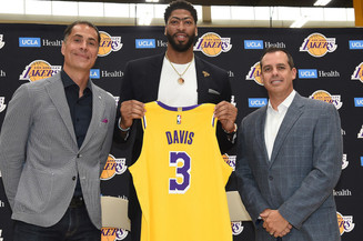 It's Official Anthony Davis is a Los Angeles Laker #3