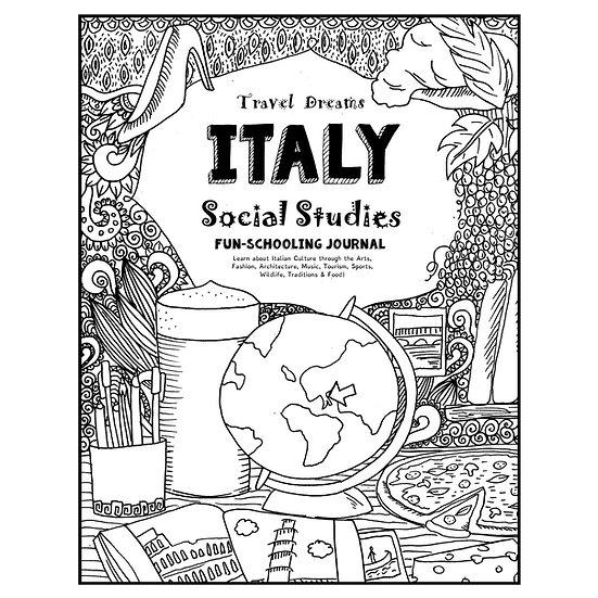 PDF - Travel Dreams Italy- Social Studies Fun-Schooling Journal