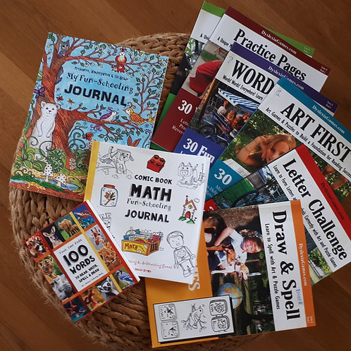 Dyslexia Therapy and Curriculum Bundle - Ages 5 - 8 - Level A  (#TTB-12)