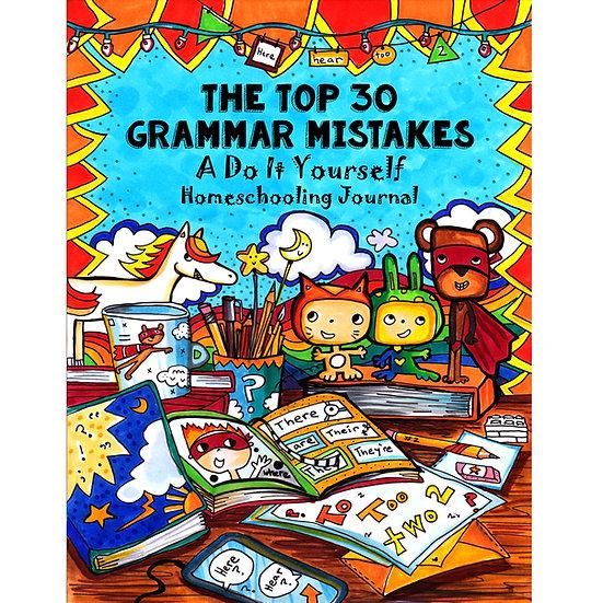 PDF - Top 30 Grammar Mistakes: A Do-It-Yourself Homeschooling Handbook