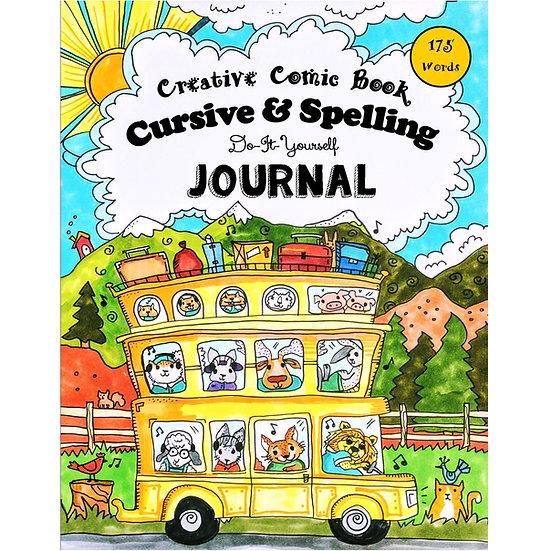 PDF - Comic Book Cursive & Spelling - Full Sized