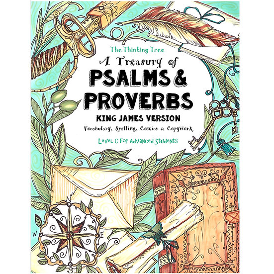 PDF - A Treasury of Psalms & Proverbs - King James Version: Vocabulary, Spelling