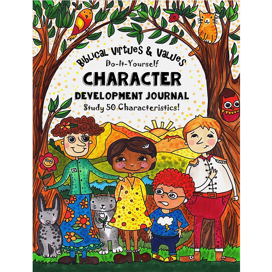 PDF Biblical Virtues & Values - Character Development Journal - Ages 8+