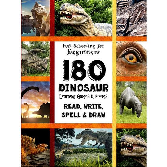PDF - 180 Dinosaur Learning Games & Poems - Full Sized
