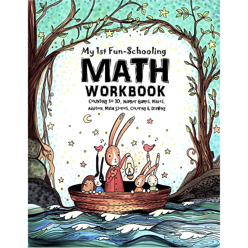 My 1st Fun-Schooling Math Workbook - PDF