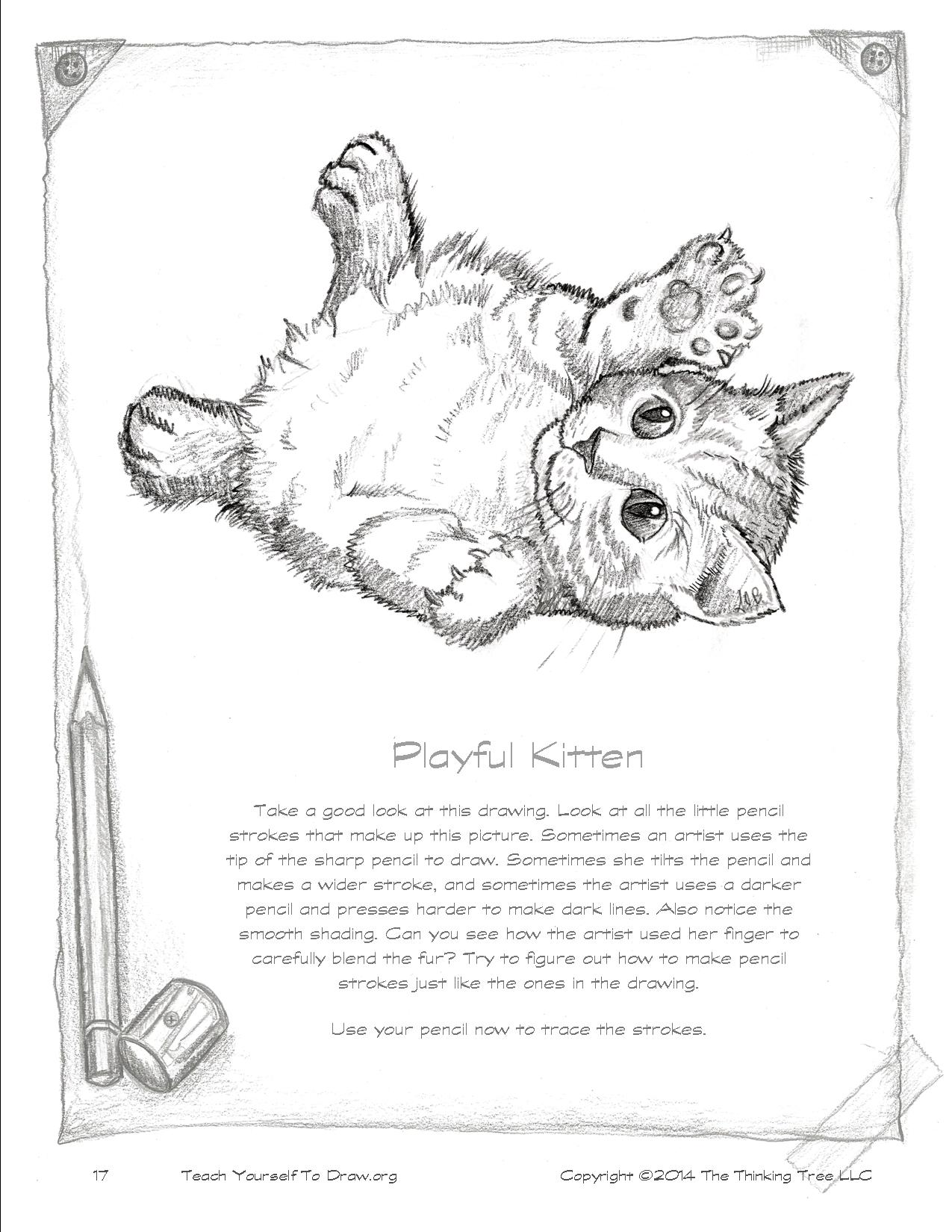 Draw Kittens Page 17