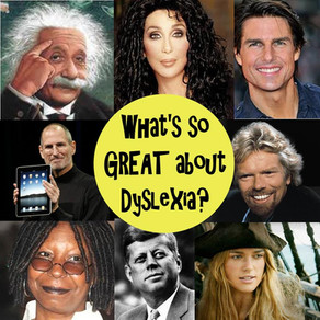 What is so GREAT about Dyslexia?