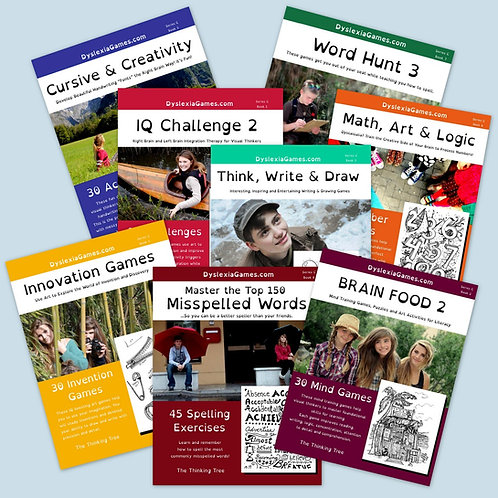 Dyslexia Games Series C - Workbook Shipment