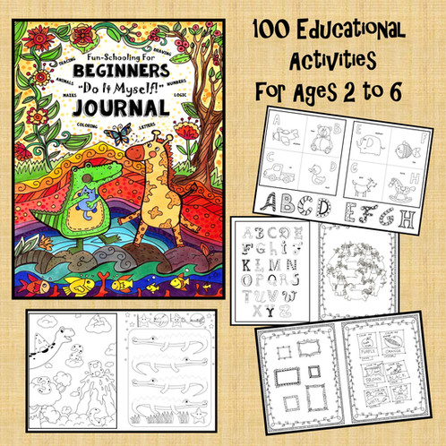 Help for students with dyslexia adhd aspergers syndrome autism fun schooling for beginners do it myself journal ages 2 to 6 solutioingenieria Choice Image