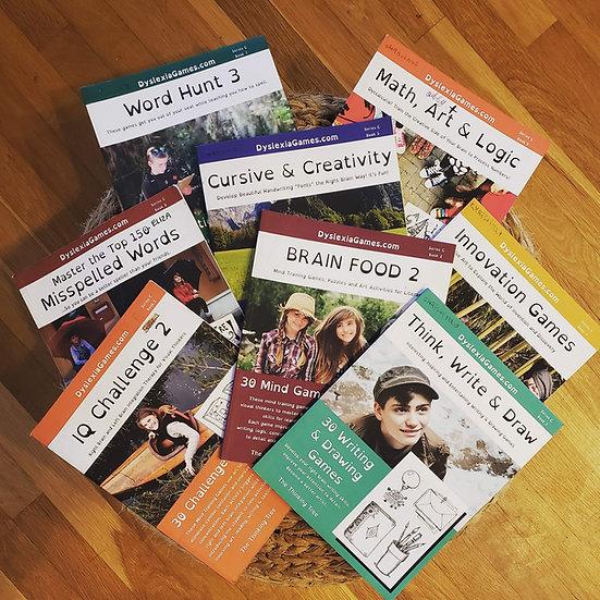 Dyslexia Games Series C Workbook Shipment