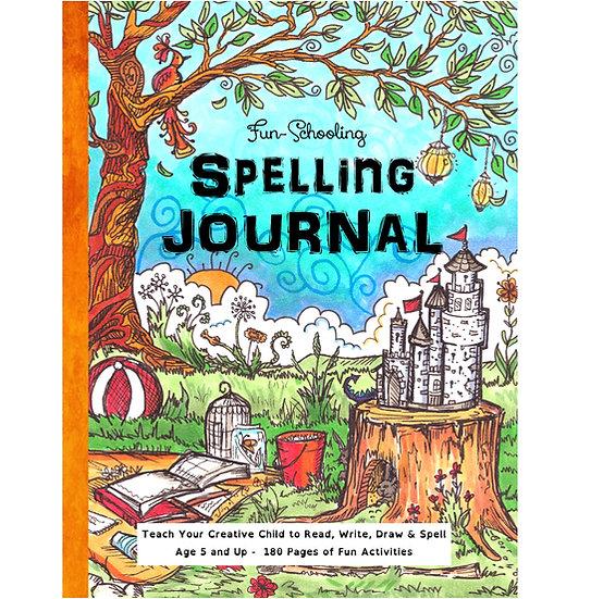 PDF - Fun-Schooling Spelling Journal - 180 Day Spelling & Reading Journal