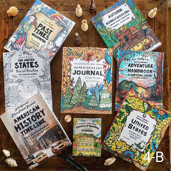4th Grade Boy's Curriculum Bundle