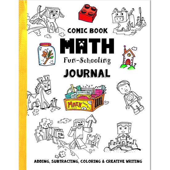 PDF - Comic Book Math Fun-Schooling Journal - USA Version