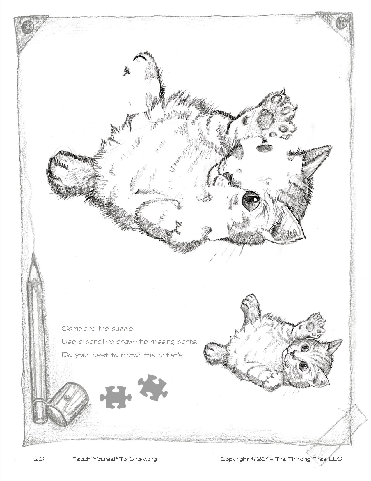 Draw Kittens Page 20