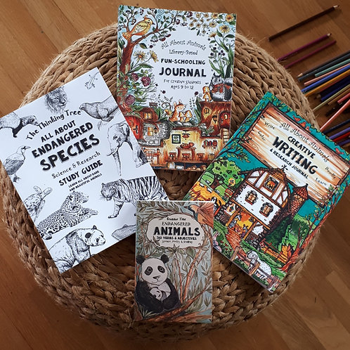 All About Animals- Ages 9+   (#TTB-4)