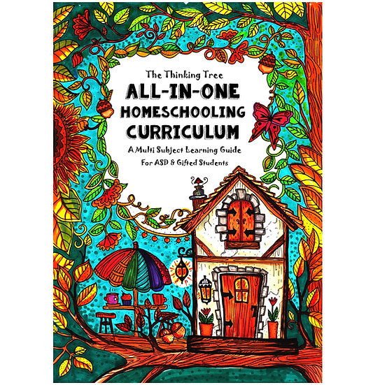 PDF - Core Journal - ASD & Gifted Student - ALL IN ONE Homeschool Curriculum