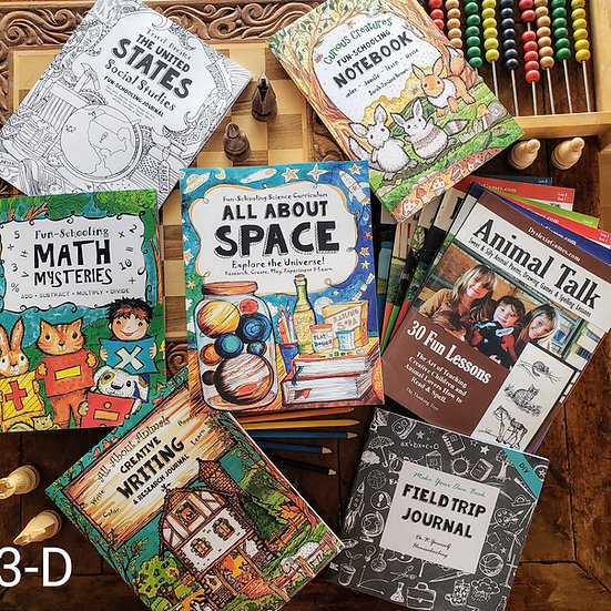 3rd Grade Dyslexic/ADHD Curriculum Bundle