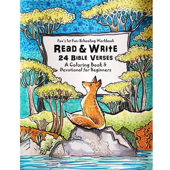 PDF - Fox's 1st Fun-Schooling Workbook Read & Write 24 Bible Verses