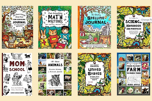 16 Book Fun-Schooling Bundle - Ages 8-12