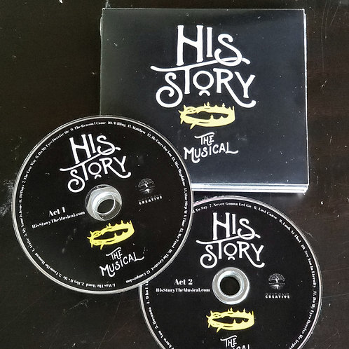 His Story the Musical 2-Disc Audio CD