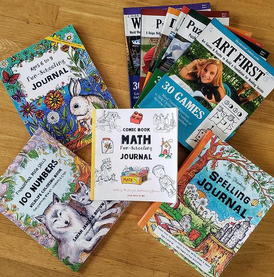 1st Grade Dyslexia Games and Fun-schooling Curriculum Bundle