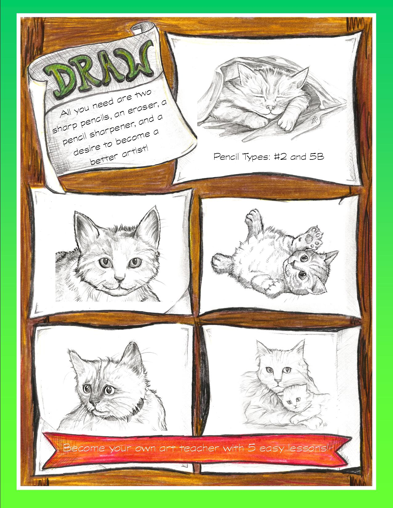 Draw Kittens - Back Cover