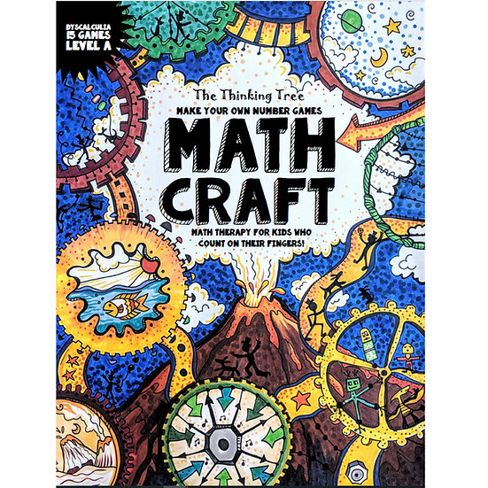 Math Craft | Level A-1 Dyscalculia Games - PDF