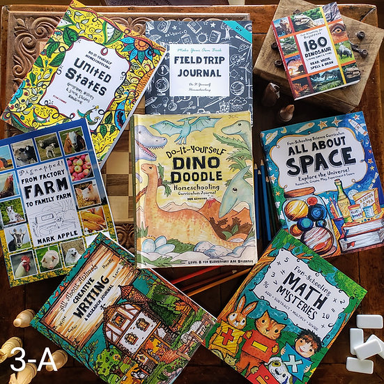 3rd Grade Boy's & Girl's Curriculum Bundle