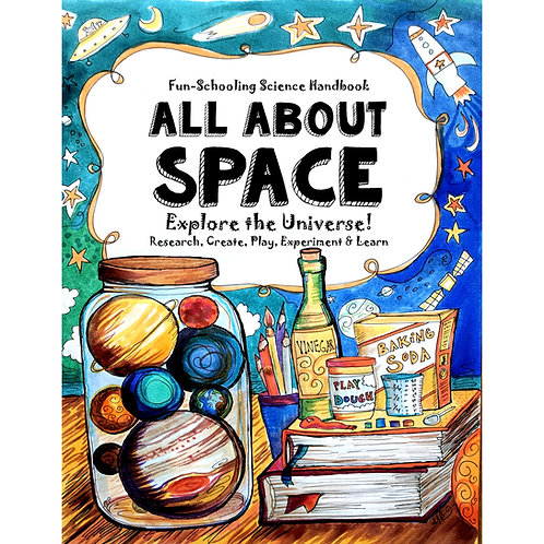 All About Space - Core Curriculum Journal - 18 Subjects PDF