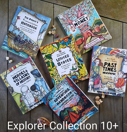 Explorer Curriculum Collection - Ages 10+