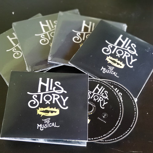 5-Pack | His Story the Musical 2-Disc Audio CD
