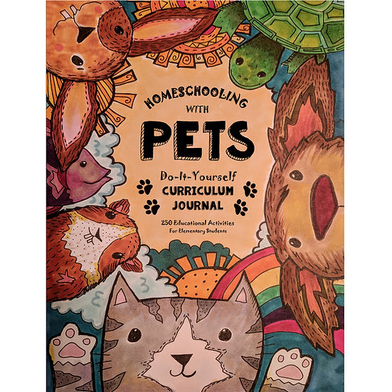 Core Journal - 2nd, 3rd & 4th Grades - Homeschooling With Pets