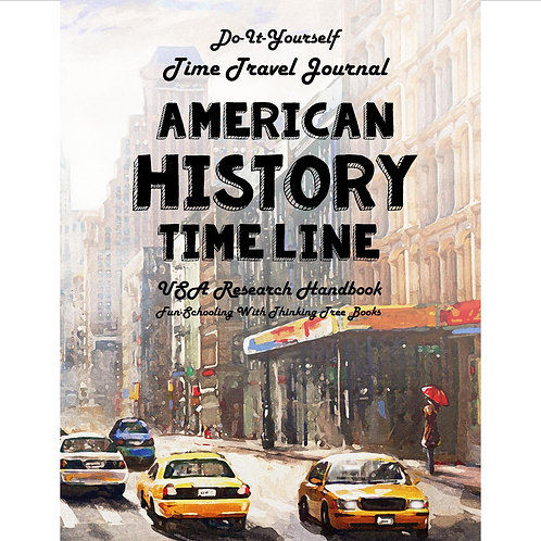 American History - Do-It-Yourself - Time Travel Journal - PDF
