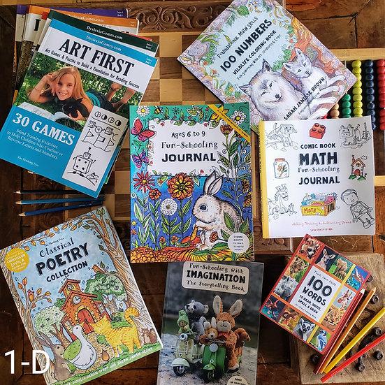 1st Grade Dyslexic/ADHD Curriculum Bundle