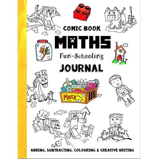 PDF - Comic Book Maths Fun-Schooling Journal - UK Version