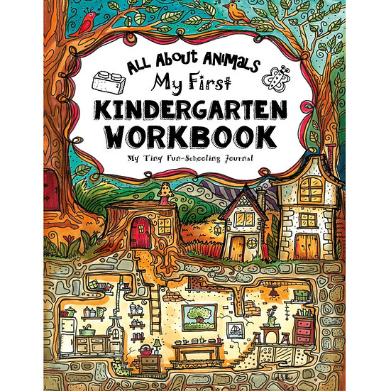 PDF - My First Kindergarten Workbook - Full Size - Core Journal