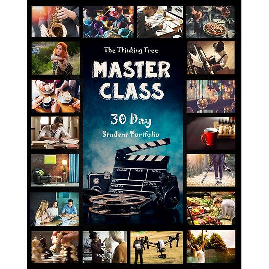 PDF - Master Class 30 Day Portfolio- Master Any Subject: A Notebook
