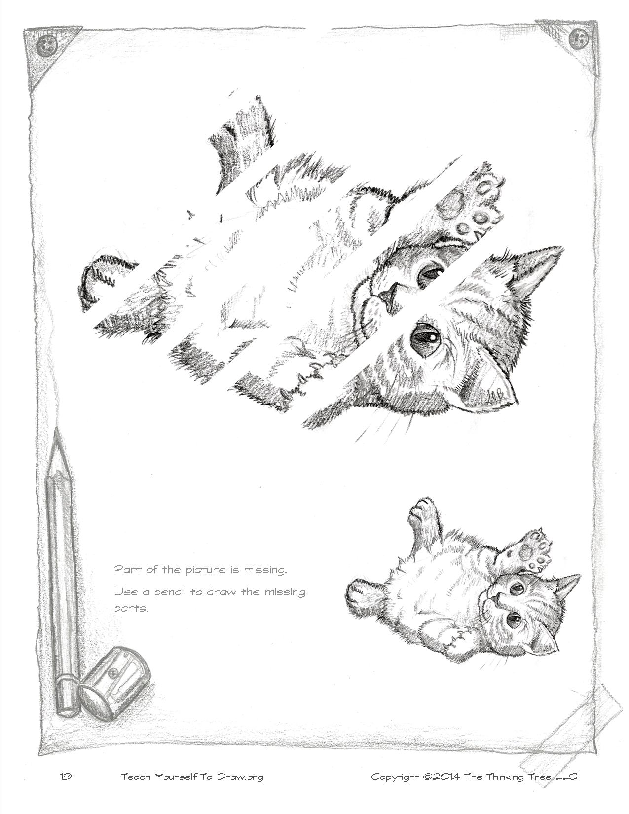 Draw Kittens Page 19