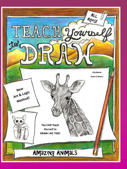Teach Yourself to Draw Amazing Animals (PDF set)