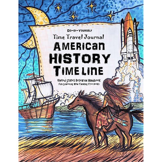 PDF - American History - Do-It-Yourself - Time Travel Journal - United States