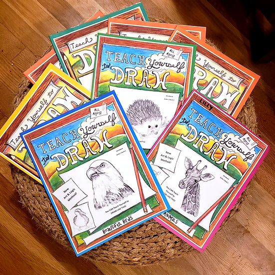 PDF - Teach Yourself to Draw - Series 2 - Amazing Animals 8 Book Bundle
