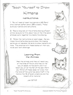 How to Draw Kittens Page 4