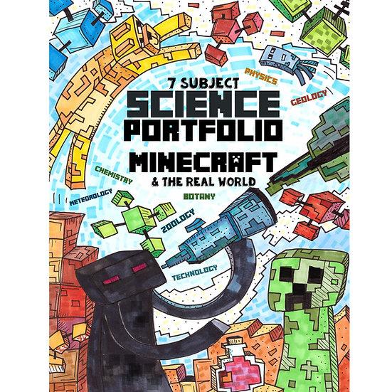 PDF - 7 Subject Science Portfolio - Minecraft & The Real World - Full Color