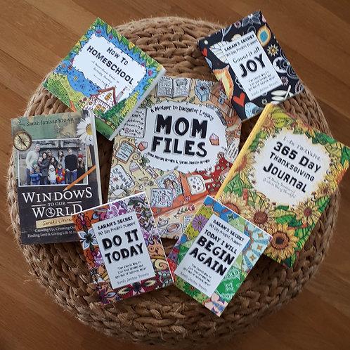 Just for Mom - Begin Again - Inspiration and Organization Bundle   (#TTB-9)