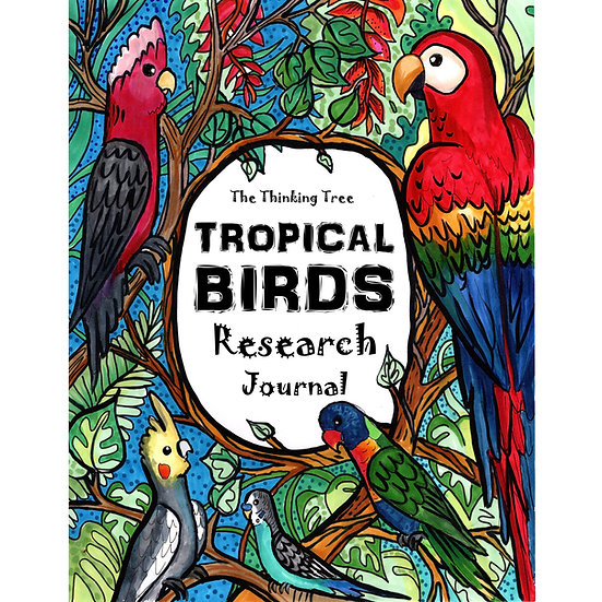 PDF - Tropical Birds Research Journal - With Colorful Photography