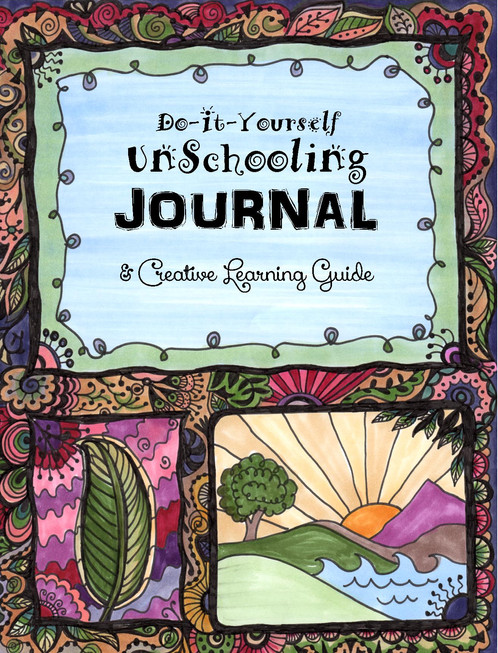 4 do it yourself journal pdf help for students with dyslexia adhd do it yourself unschooling journal 304 pages print at home sunrise cover interior a now your child can turn any stack of books into a homeschooling solutioingenieria Image collections