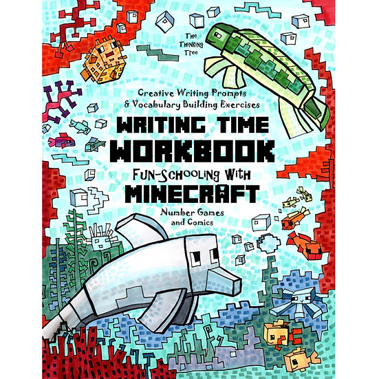 Writing Time Workbook - Creative Writing Prompts & Vocabulary Building Exercises