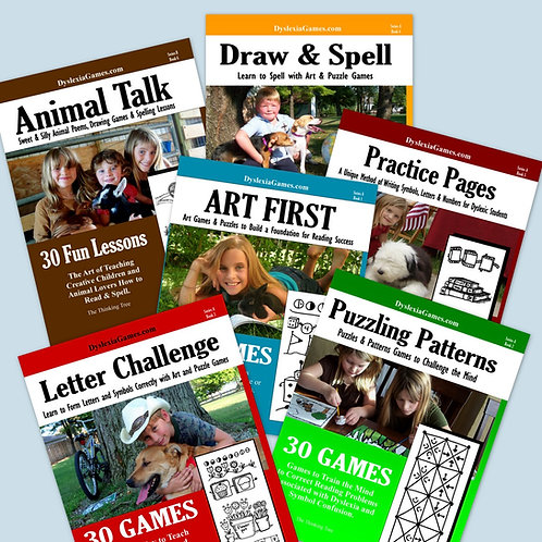 Dyslexia Games Series A - Workbook Shipment