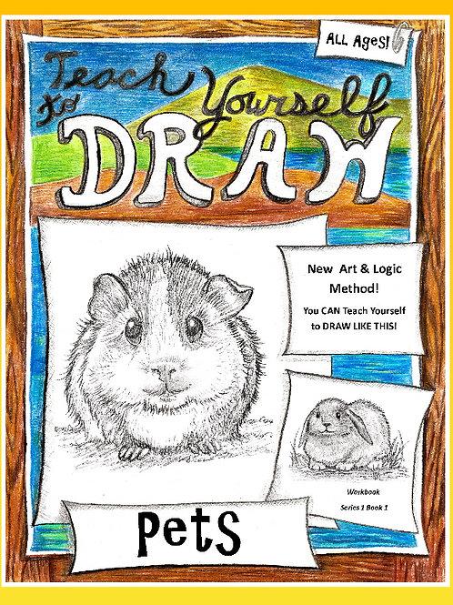 Teach Yourself To Draw Playful Pets (PDF set)